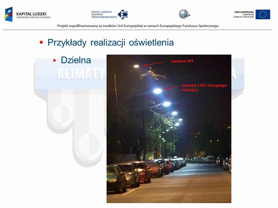 Przykłady realizacji oświetlenia