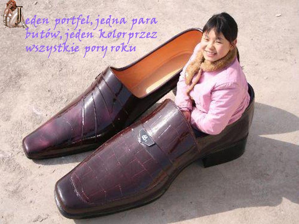eden portfel, jedna para butów, jeden kolor przez wszystkie pory roku