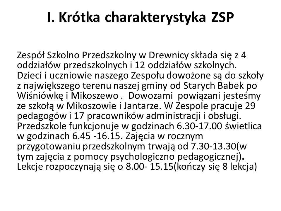 I. Krótka charakterystyka ZSP