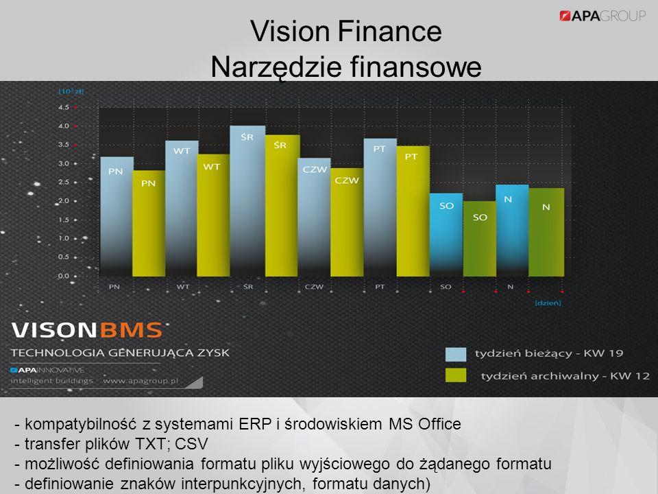 Vision Finance Narzędzie finansowe