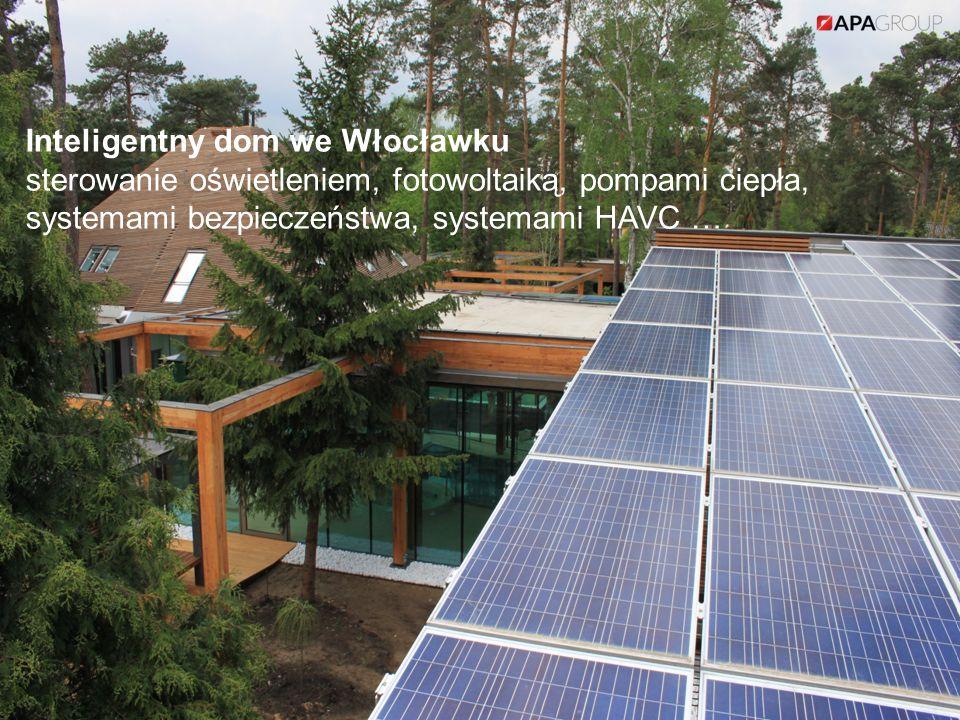 Inteligentny dom we Włocławku sterowanie oświetleniem, fotowoltaiką, pompami ciepła, systemami bezpieczeństwa, systemami HAVC …