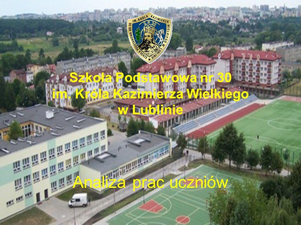Szkoła Podstawowa nr 30 im. Króla Kazimierza Wielkiego w Lublinie