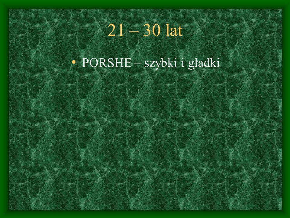 PORSHE – szybki i gładki