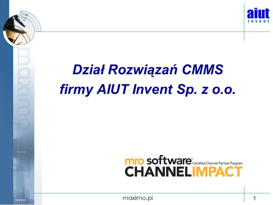 firmy AIUT Invent Sp. z o.o.