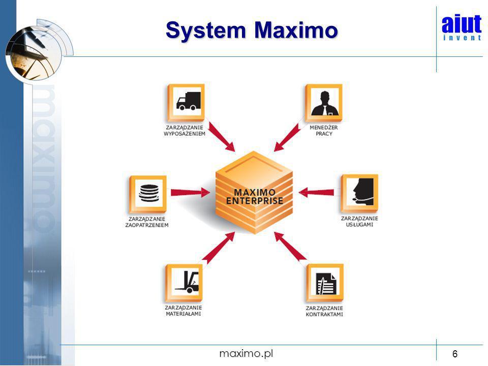 System Maximo maximo.pl