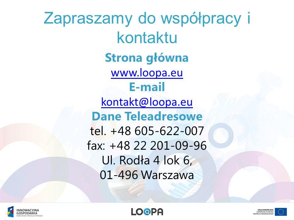Zapraszamy do współpracy i kontaktu