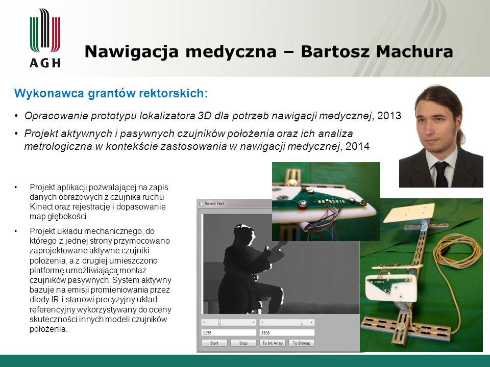 Nawigacja medyczna – Bartosz Machura