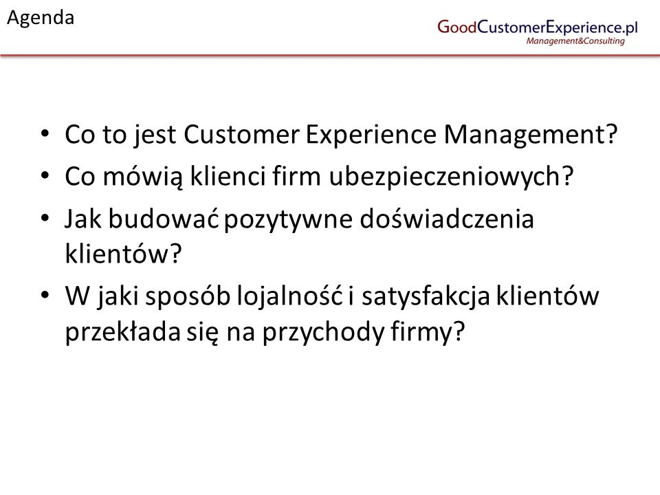 Co to jest Customer Experience Management