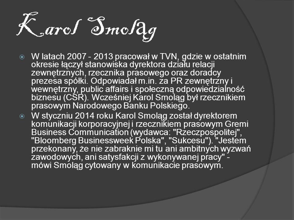 Karol Smoląg