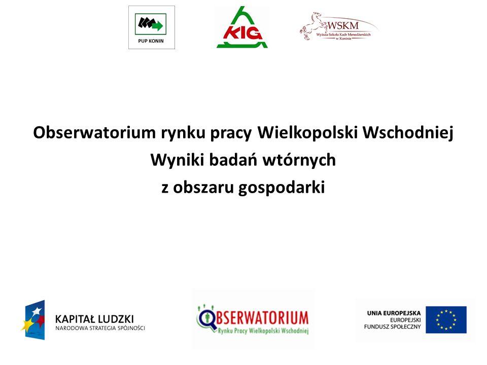Obserwatorium rynku pracy Wielkopolski Wschodniej