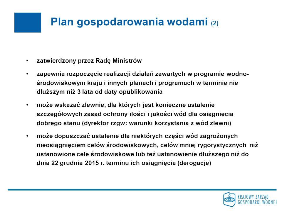 Plan gospodarowania wodami (2)