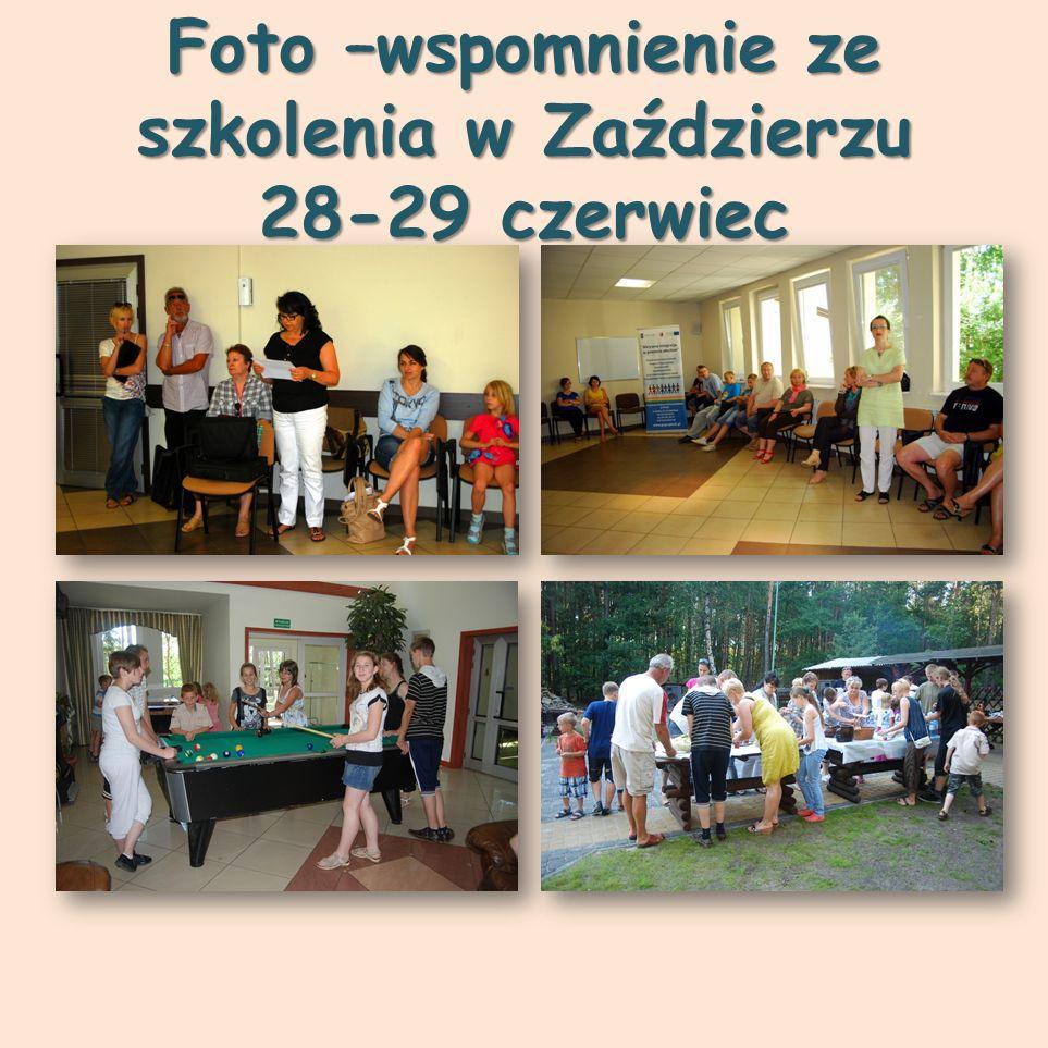 Foto –wspomnienie ze szkolenia w Zaździerzu 28-29 czerwiec