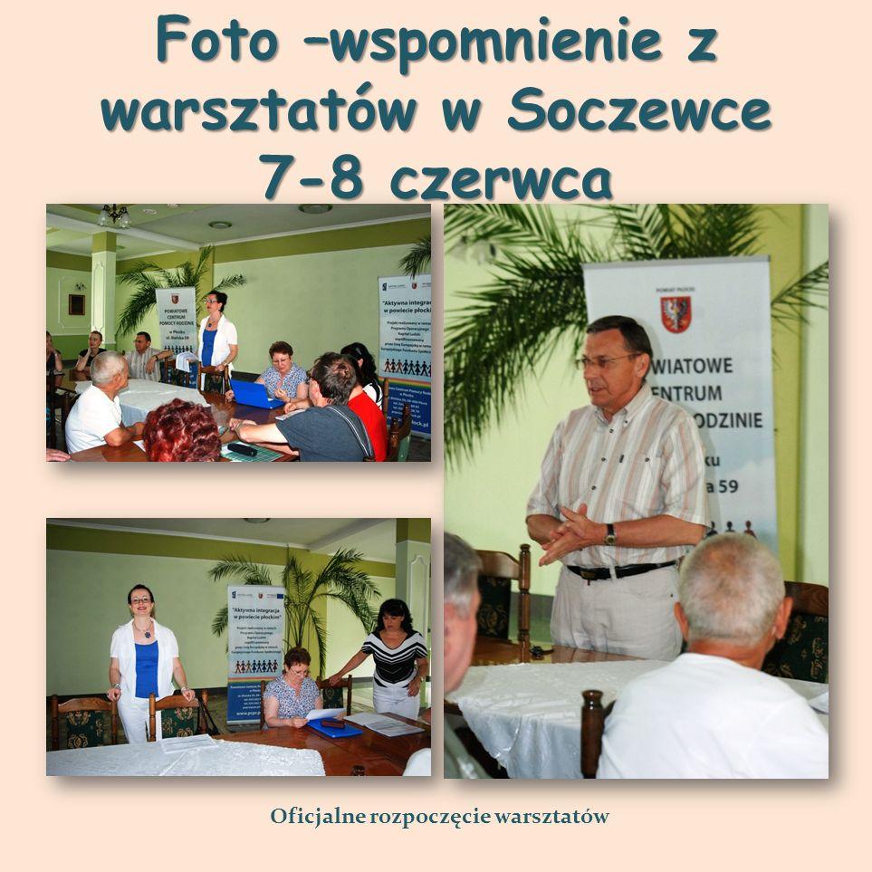 Foto –wspomnienie z warsztatów w Soczewce 7-8 czerwca