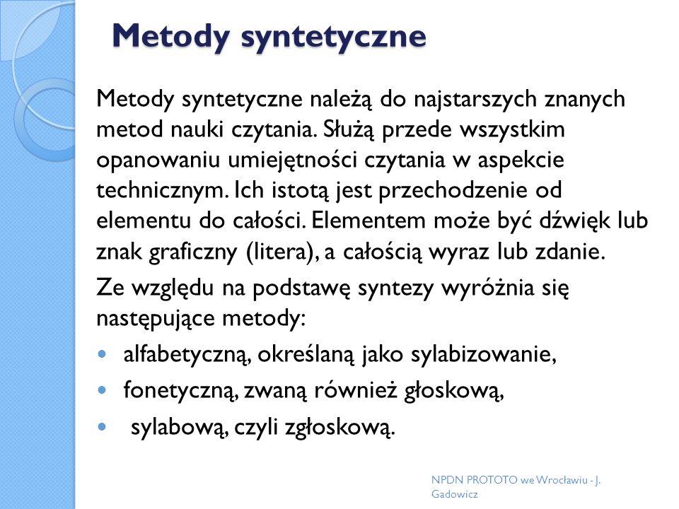 Metody syntetyczne