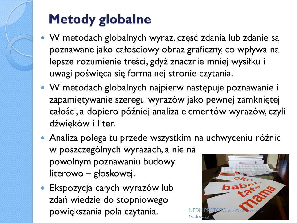 Metody globalne