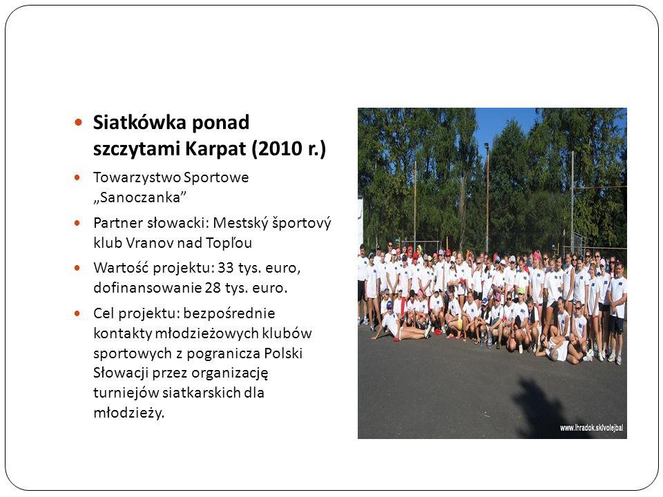 Siatkówka ponad szczytami Karpat (2010 r.)
