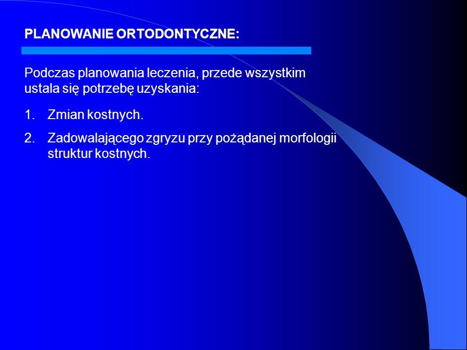 PLANOWANIE ORTODONTYCZNE: