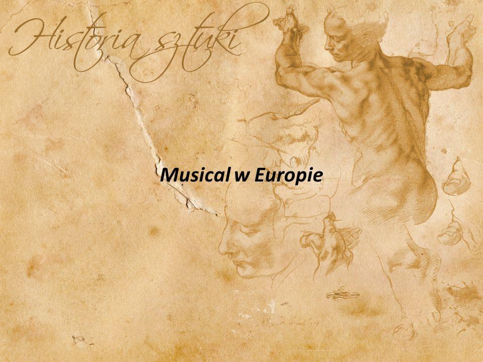 Musical w Europie