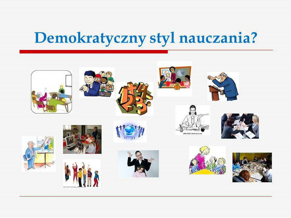 Demokratyczny styl nauczania