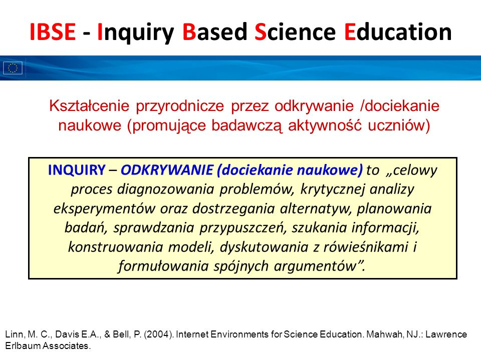 IBSE - Inquiry Based Science Education