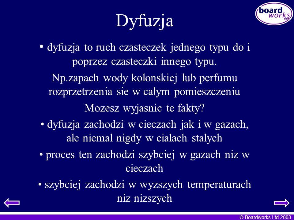 Dyfuzja dyfuzja to ruch czasteczek jednego typu do i poprzez czasteczki innego typu.