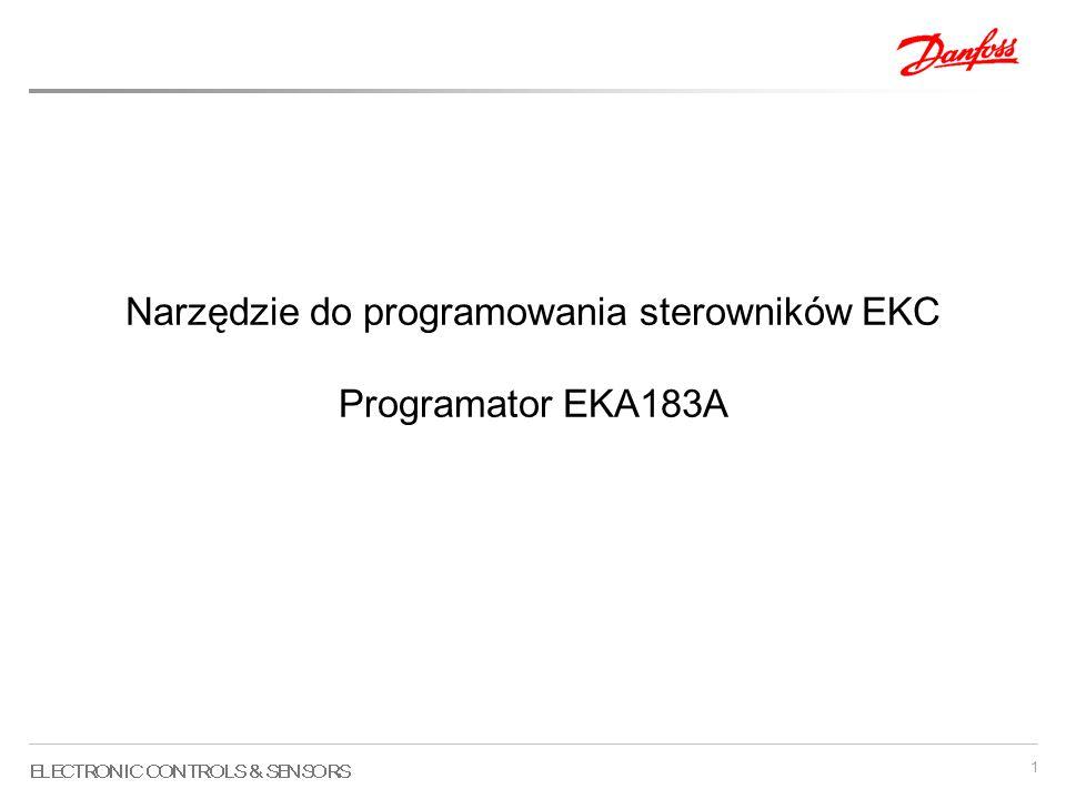 Narzędzie do programowania sterowników EKC Programator EKA183A