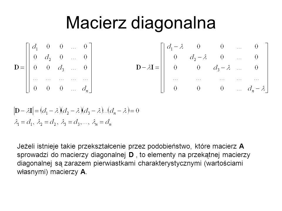 Macierz diagonalna
