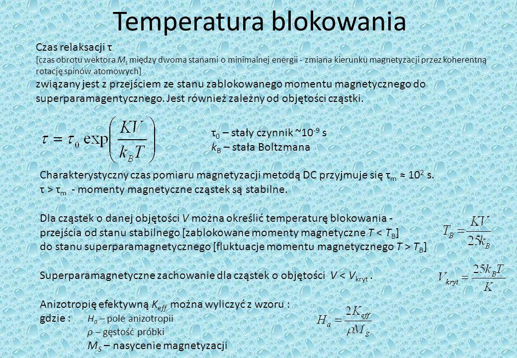 Temperatura blokowania