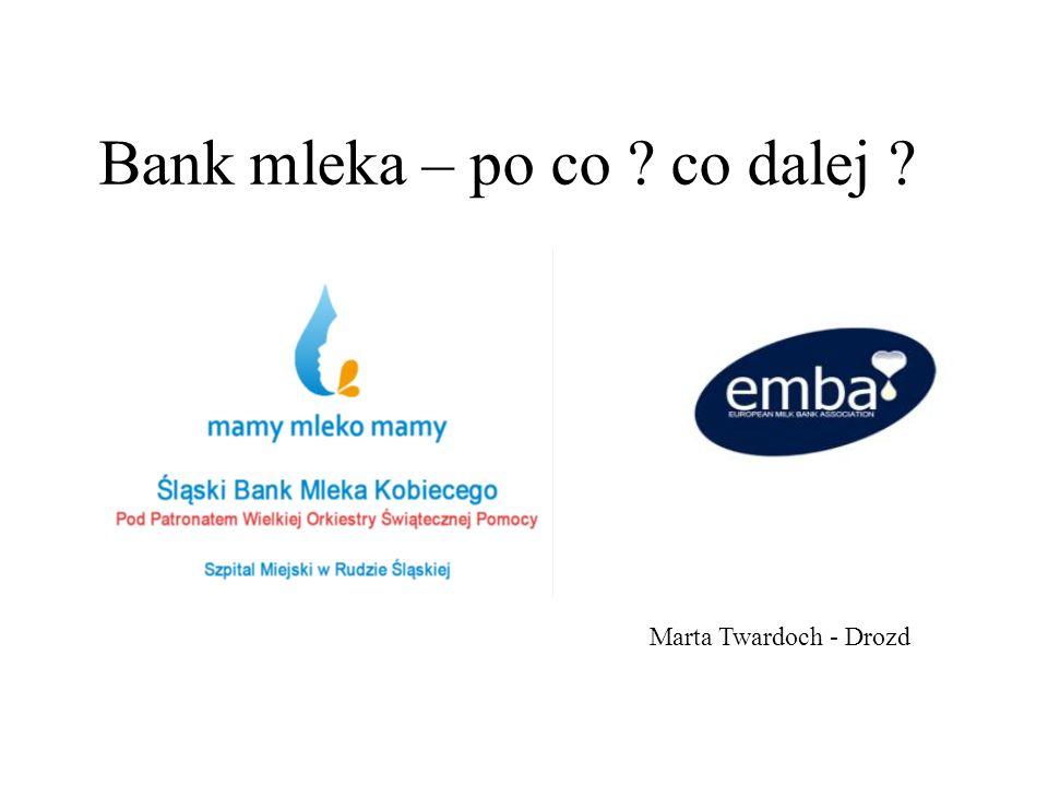 Bank mleka – po co co dalej