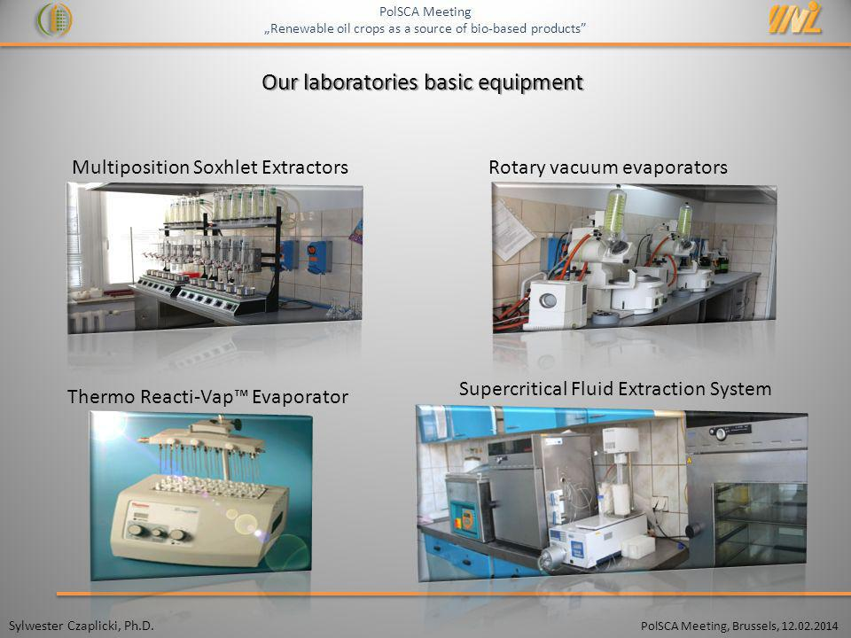 Our laboratories basic equipment