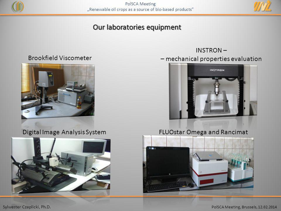Our laboratories equipment