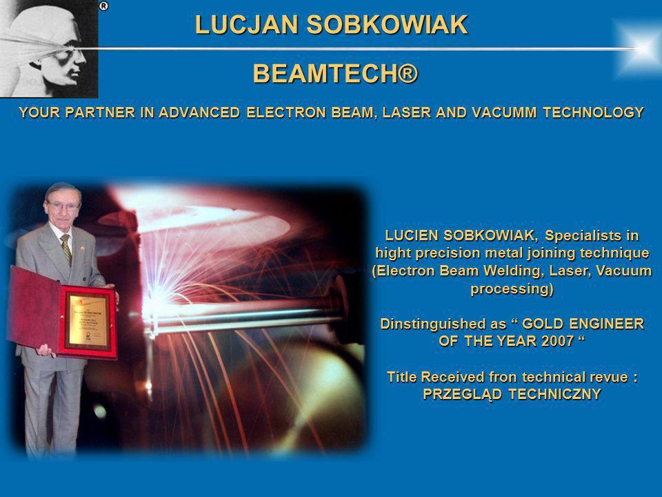 LUCJAN SOBKOWIAK BEAMTECH®