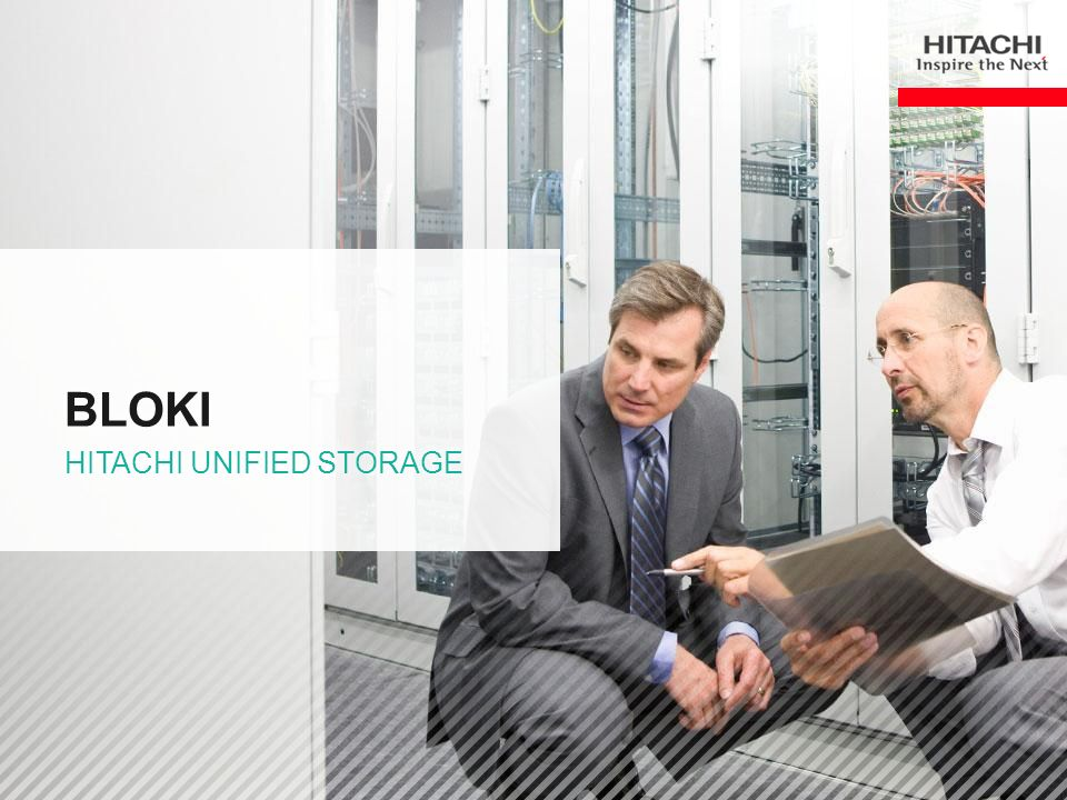 bloki Hitachi unified storage
