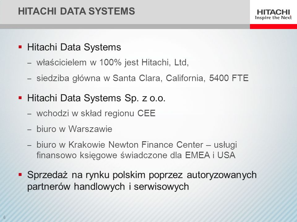 Hitachi Data Systems Sp. z o.o.