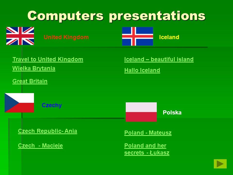 Computers presentations