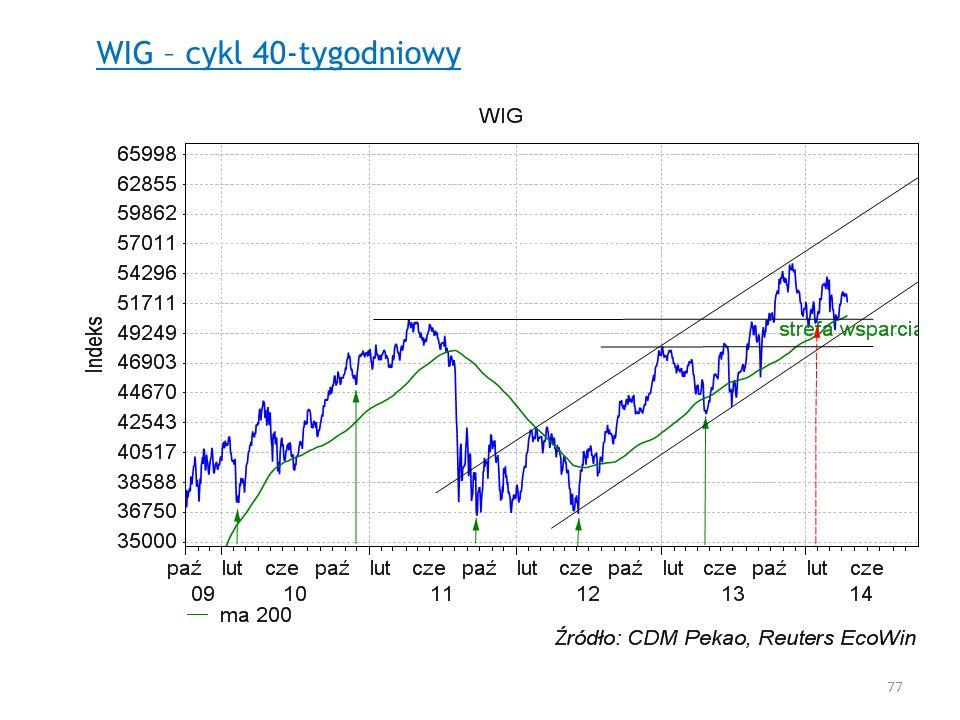 WIG – cykl 40-tygodniowy