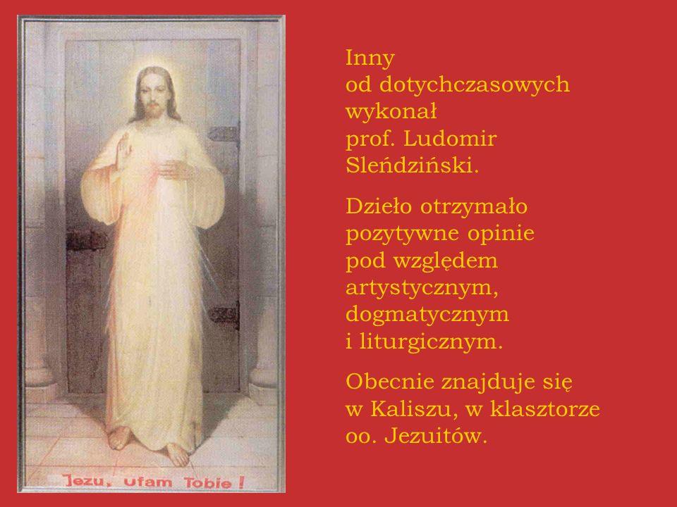 Inny od dotychczasowych wykonał prof. Ludomir Sleńdziński.
