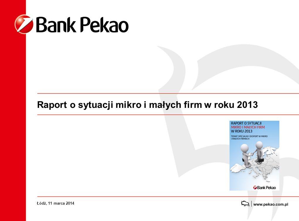 Już po raz czwarty Bank Pekao przedstawia raport o sytuacji mikro i małych firm
