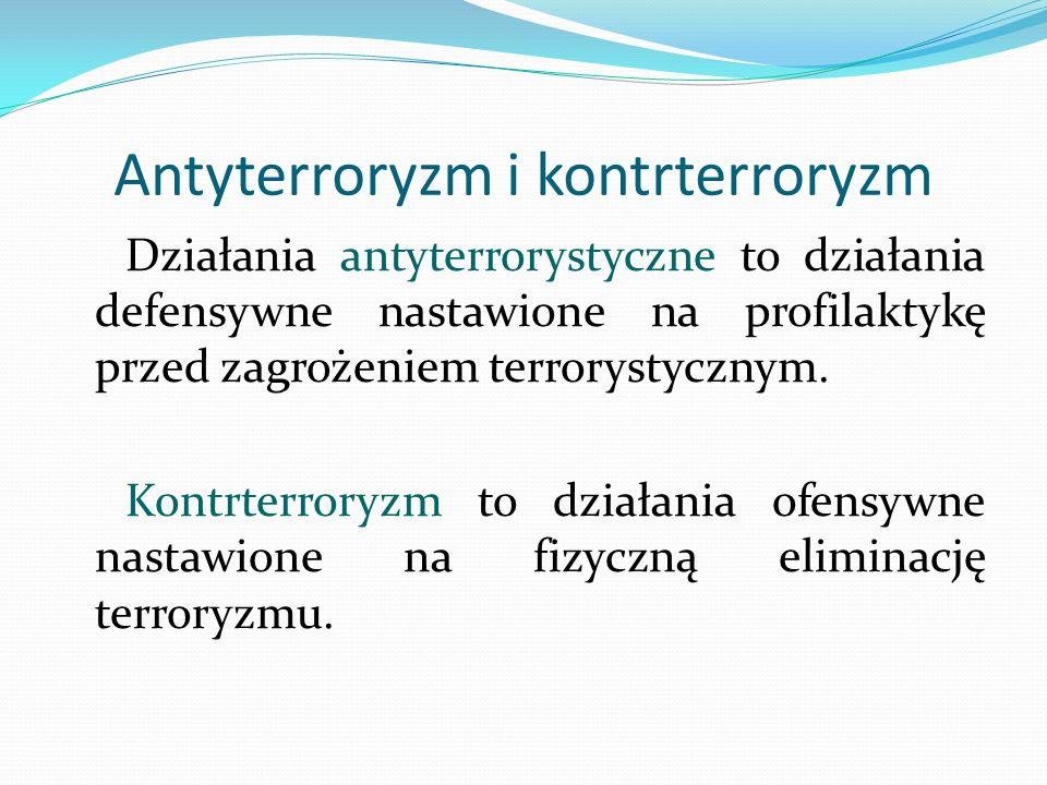 Antyterroryzm i kontrterroryzm