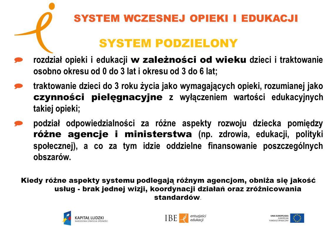 system wczesnej opieki i edukacji