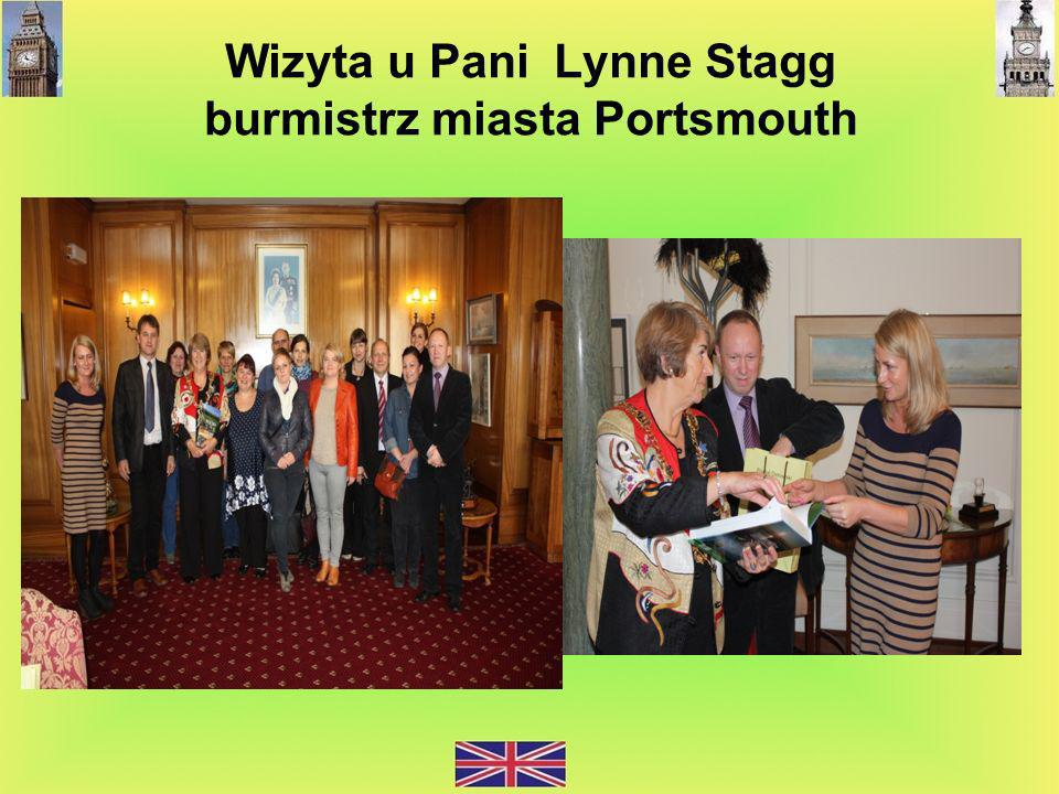 Wizyta u Pani Lynne Stagg burmistrz miasta Portsmouth