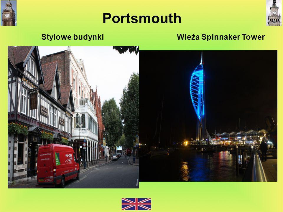 Portsmouth Stylowe budynki Wieża Spinnaker Tower