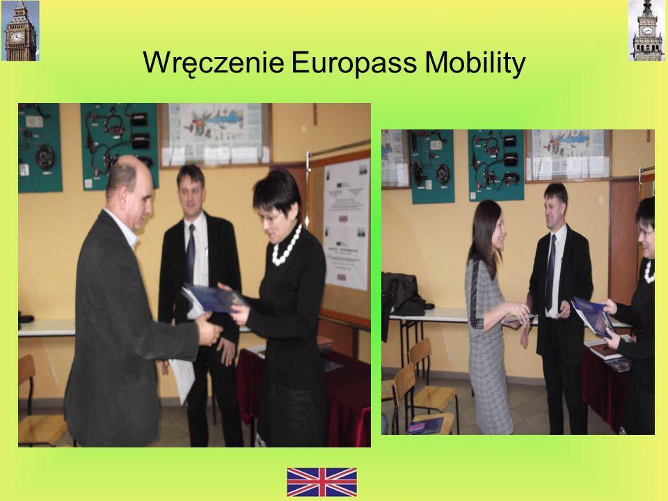 Wręczenie Europass Mobility