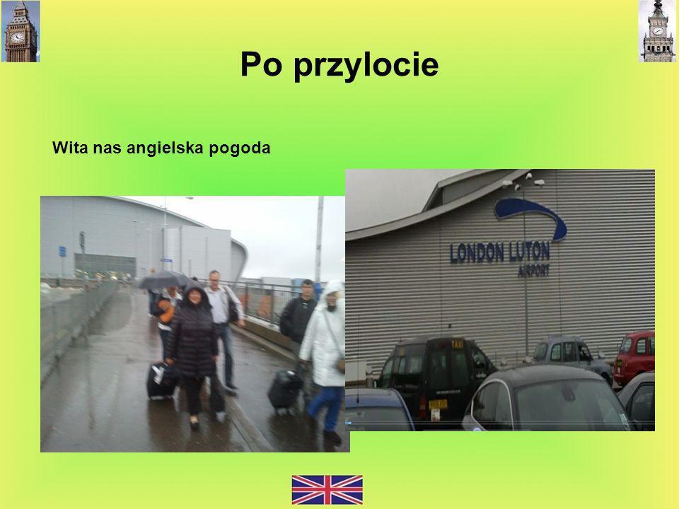 Wita nas angielska pogoda