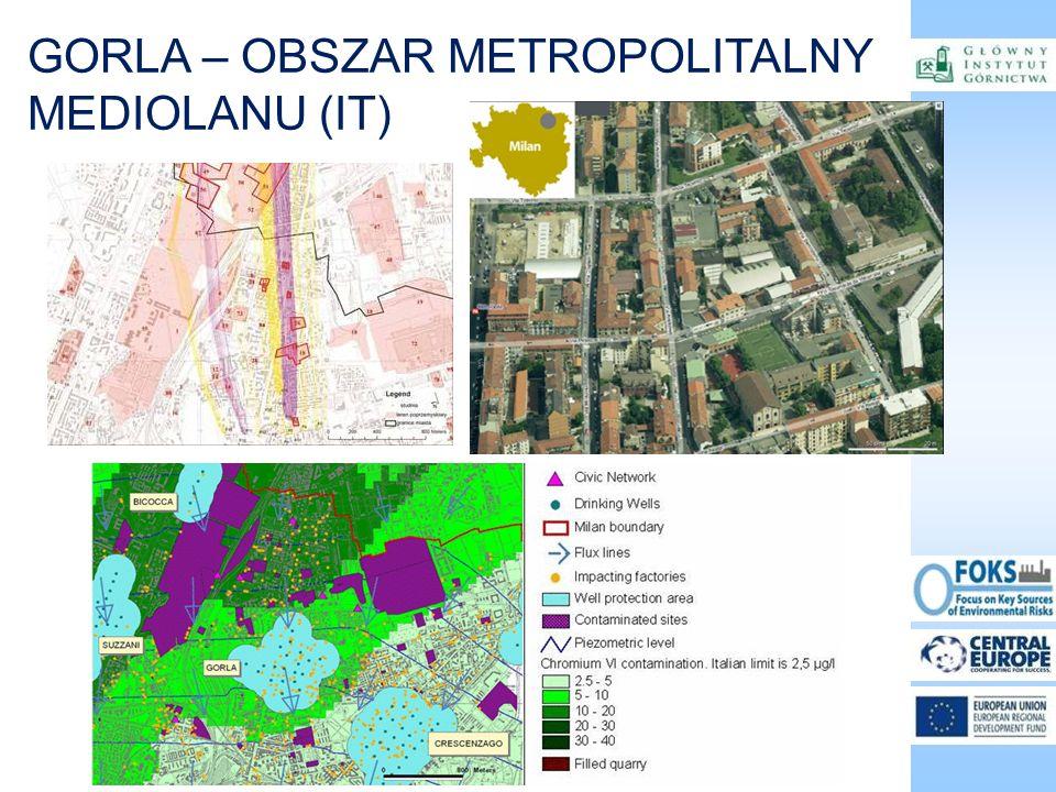 GORLA – OBSZAR METROPOLITALNY MEDIOLANU (IT)