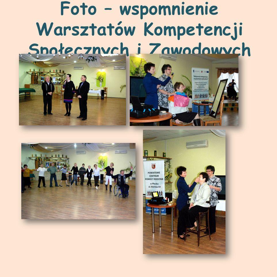 Foto – wspomnienie Warsztatów Kompetencji Społecznych i Zawodowych
