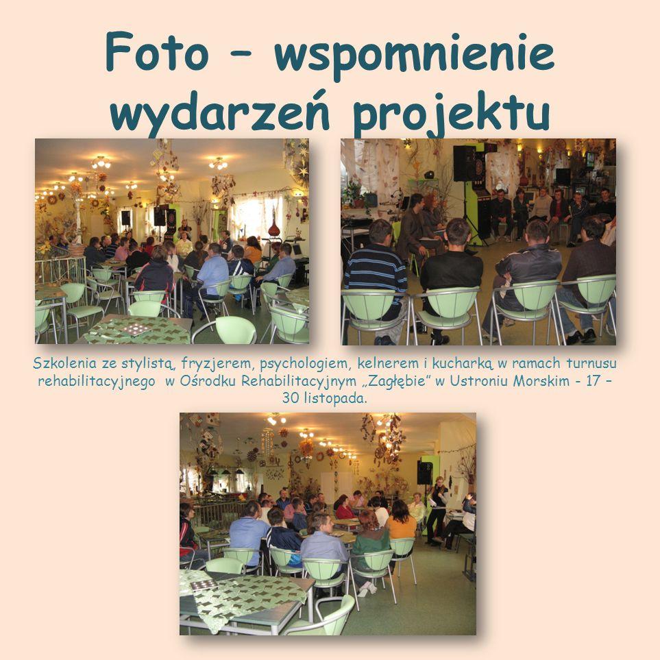 Foto – wspomnienie wydarzeń projektu
