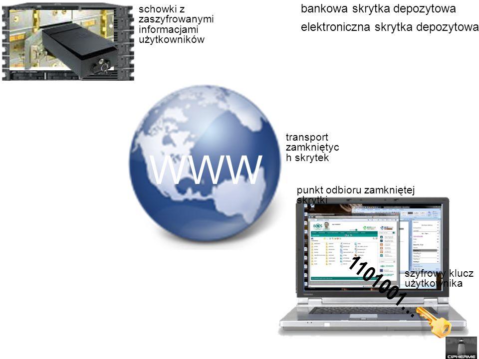 WWW 1101001… bankowa skrytka depozytowa