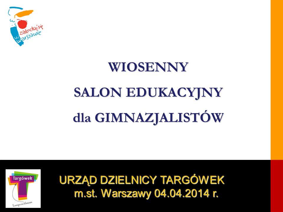 URZĄD DZIELNICY TARGÓWEK m.st. Warszawy 04.04.2014 r.