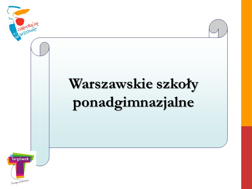 Warszawskie szkoły ponadgimnazjalne